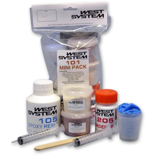 West System Epoxy Mini Pack. Resin Fillers Mixing Kit 350grm